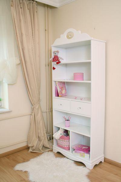 b cherregal kristall wei bei oli niki online bestellen. Black Bedroom Furniture Sets. Home Design Ideas