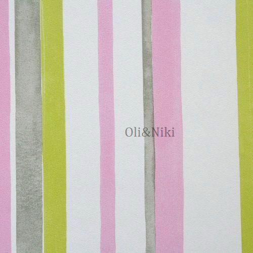 Kinderzimmer Tapete Grun ps happy kids gestreifte wei blau grn kinderzimmer tapete 05578 10 papier Tapete Streifen Rosa Grn