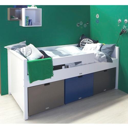 kompaktes bett timo mix match mit spielkisten im shop von. Black Bedroom Furniture Sets. Home Design Ideas