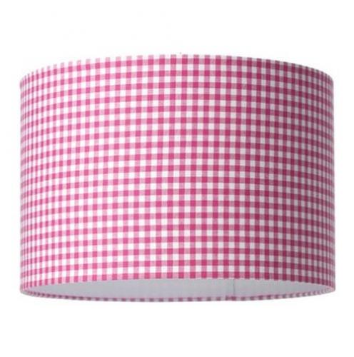 Tapete Rosa Wei? Kariert : Lampe pink-wei?-kariert im Onlineshop von Oli&Niki bestellen