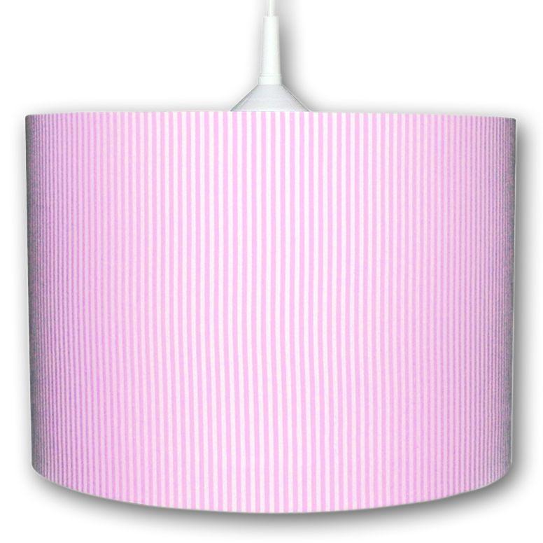 lampe rosa gestreift bei oli niki bestellen. Black Bedroom Furniture Sets. Home Design Ideas