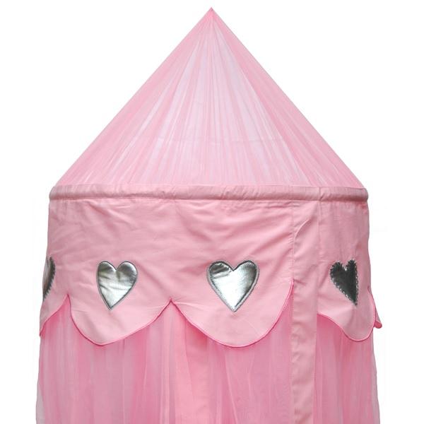 baldachin rosa herzen oli niki. Black Bedroom Furniture Sets. Home Design Ideas