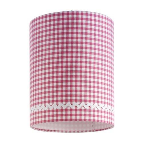 lampe pink wei kariert im onlineshop von oli niki bestellen. Black Bedroom Furniture Sets. Home Design Ideas