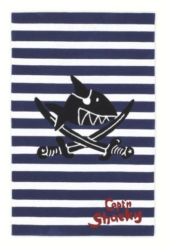 piratenteppich capt n sharky streifen im shop von oli niki. Black Bedroom Furniture Sets. Home Design Ideas