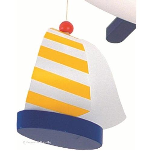 deckenlampe segelbote in wei blau bei oli niki kaufen. Black Bedroom Furniture Sets. Home Design Ideas