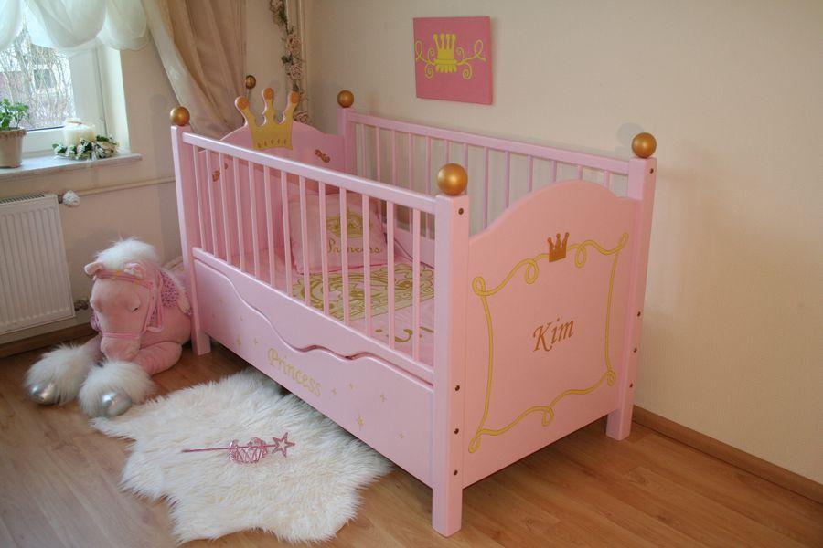 babybett princess rosa bei oli niki online bestellen. Black Bedroom Furniture Sets. Home Design Ideas
