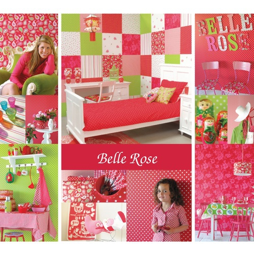 tolle kinderzimmertapete in rot bei oliundniki kaufen. Black Bedroom Furniture Sets. Home Design Ideas