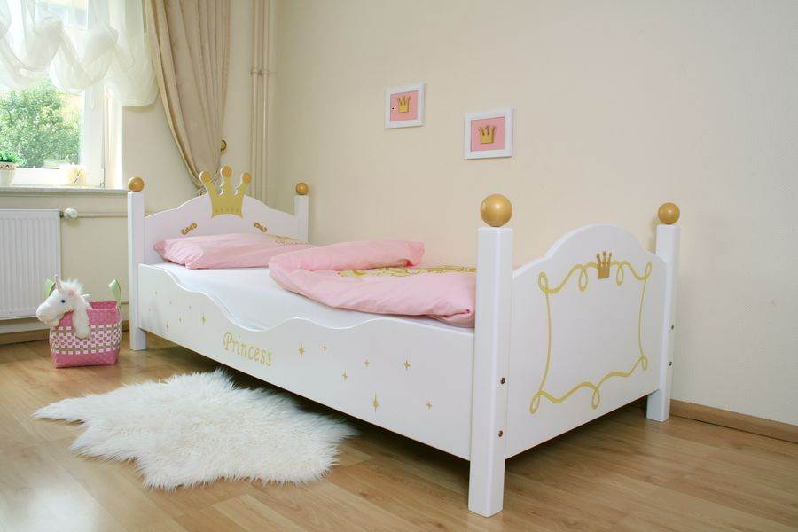 kinderbett princess wei oli niki. Black Bedroom Furniture Sets. Home Design Ideas