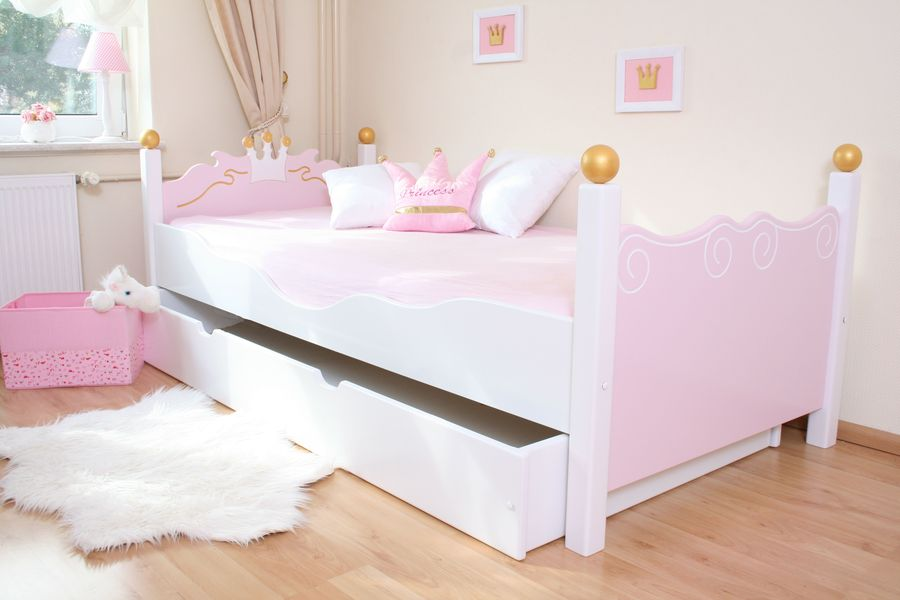 kinderbett mit bettkasten. Black Bedroom Furniture Sets. Home Design Ideas