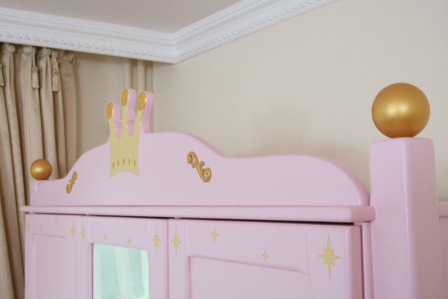 Schrank 3-türig Prinzessin rosa bei Oli&Niki kaufen