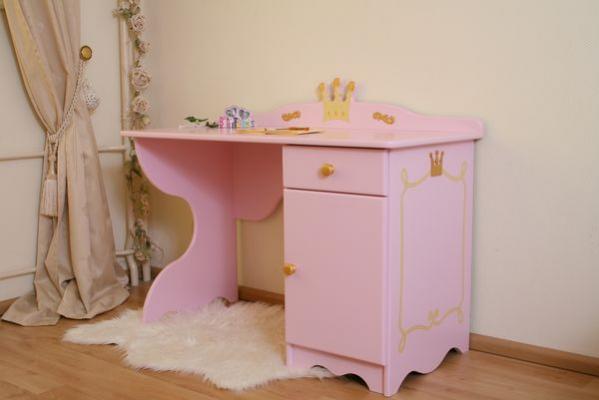 schreibtisch princess rosa oli niki. Black Bedroom Furniture Sets. Home Design Ideas