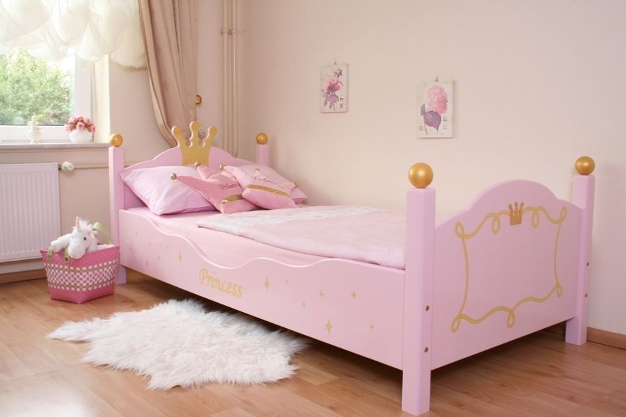 princess bett rosa oli niki. Black Bedroom Furniture Sets. Home Design Ideas