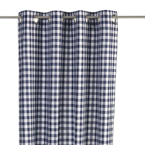 vorhang blau cool gardinen leinen wei vorhang blau weiss gestreift leinen gardine natur xcm. Black Bedroom Furniture Sets. Home Design Ideas