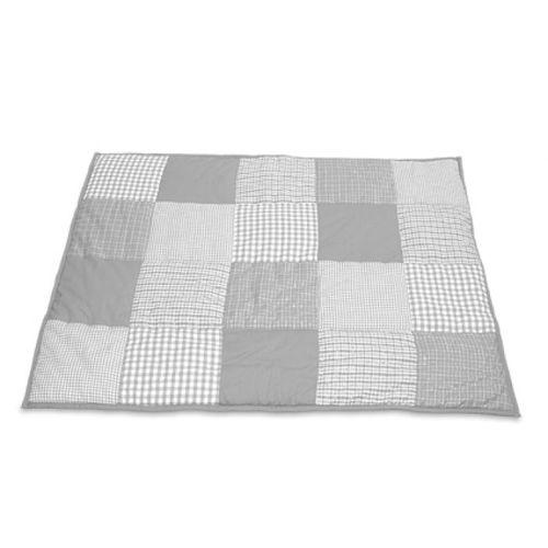 krabbeldecke in grau von taftan im shop von oli niki kaufen. Black Bedroom Furniture Sets. Home Design Ideas