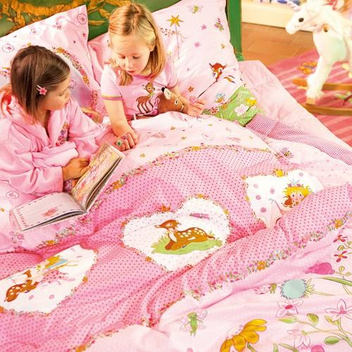 Kindertapeten Designers Guild : Kinderbettw?sche Lillifee Blumenwiese Oli&Niki