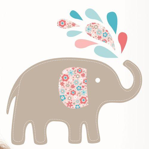 Wandaufkleber Babyelefanten Von Forwalls Bei Oli Niki Kaufen