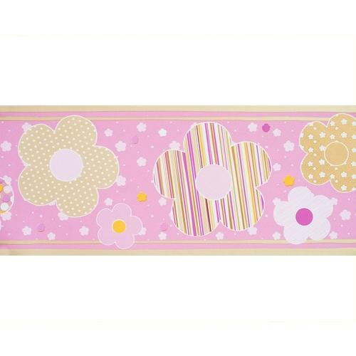 bord re babyzimmer blumen rosa gold bei oli niki bestellen. Black Bedroom Furniture Sets. Home Design Ideas