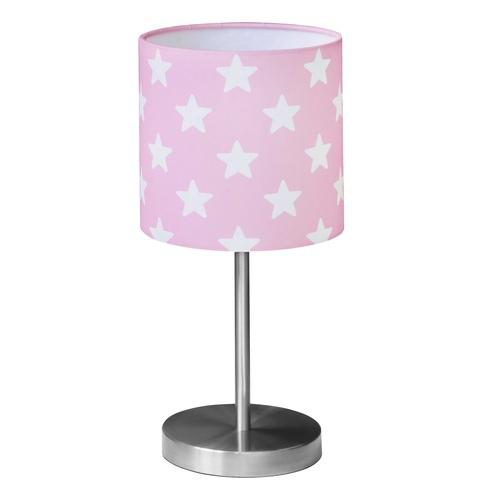nachttischlampe sterne rosa bei oli niki bestellen. Black Bedroom Furniture Sets. Home Design Ideas