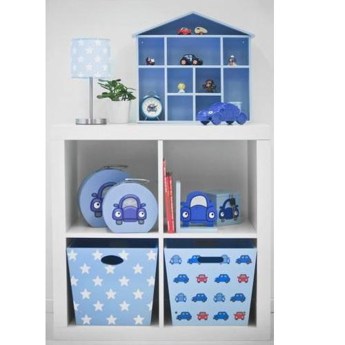 nachttischlampe star hellblau wei bei oli niki bestellen. Black Bedroom Furniture Sets. Home Design Ideas