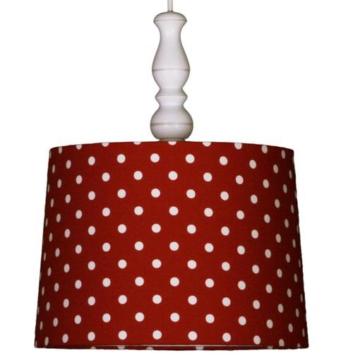 lampe rot mit punkten bei oli niki kaufen. Black Bedroom Furniture Sets. Home Design Ideas