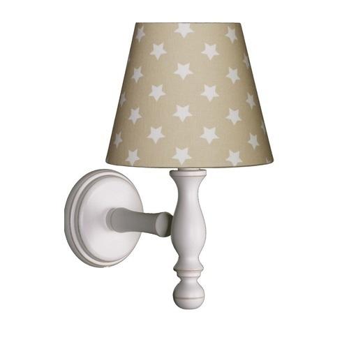 wandlampe beige sterne bei oli niki bestellen. Black Bedroom Furniture Sets. Home Design Ideas