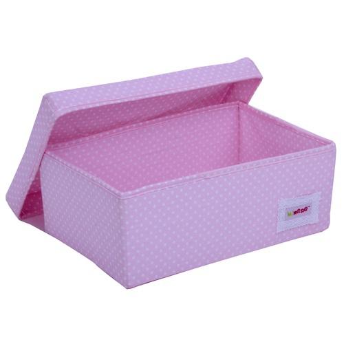 aufbewahrungsbox rosa punkte bei oli niki kaufen. Black Bedroom Furniture Sets. Home Design Ideas