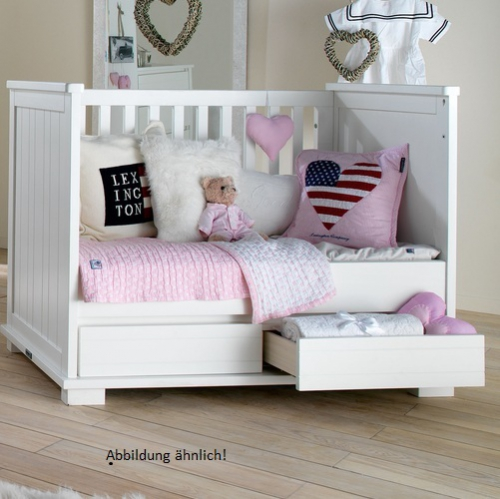 babybett kidsmill somero umbaubar bei oli niki kaufen. Black Bedroom Furniture Sets. Home Design Ideas