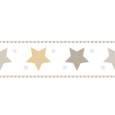 Bordüre Sterne Beige