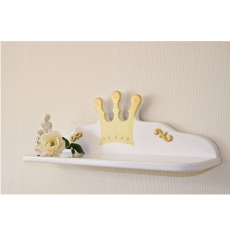 Wandregal Prinzessin wei�