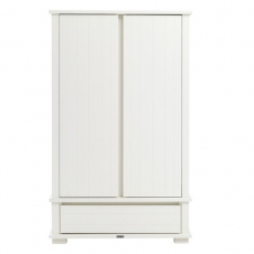 Schrank Malm� white brush Kidsmill