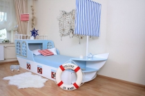 Kinderbett Boot Maritim