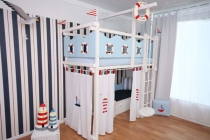 tolles maritimes kinderzimmer im shop von oli niki. Black Bedroom Furniture Sets. Home Design Ideas